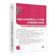 Legea societatilor nr. 31/1990 si legislatie conexa Ad litteram. Actualizat 17 iunie 2013