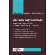 Sanctiunile contraventionale Aspecte de drept material in dreptul romanesc si comparat