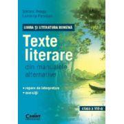 Texte literare din manualele alternative pentru clasa a VIII-a - LIMBA SI LITERATURA ROMANA