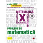 Mate 2014 Consolidare - PROBLEME DE MATEMATICA PENTRU CLASA A X-A