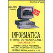 Manual de INFORMATICĂ, clasa a X-a, profilul real-intensiv