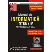 Manual de INFORMATICĂ pentru clasa a XII-a, profilul real-intensiv
