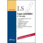Legea societatilor si 7 legi uzuale - actualizat 10 septembrie 2013