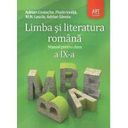 Limba si Literatura Romana - Manual clasa a IX-a
