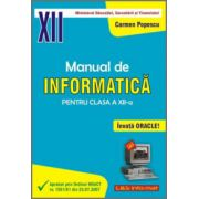 Manual de INFORMATICĂ pentru clasa a XII-a (Oracle)