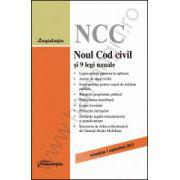 Noul Cod civil si 9 legi uzuale - actualizat 1 septembrie 2013