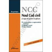 Noul Cod civil si Legea de punere in aplicare – actualizat 1 septembrie 2013