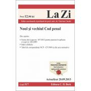 Noul si vechiul Cod penal - Actualizat la 20.09.2013