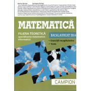 BACALAUREAT 2014 Matematica - Specializarea Matematica - Informatica - Exercitii Recapitulative - Teste