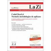 Codul fiscal şi Normele metodologice de aplicare -  Actualizat la 1.11.2013