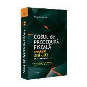 Codul de Procedura Fiscala Comparat  2013 - 2014