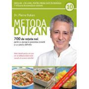 Metoda Dukan Vol. 10 - 700 de reţete noi pentru a ajunge la greutatea corectă şi a o păstra definitiv