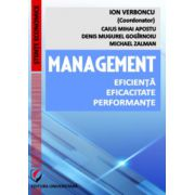 Management. Eficienta. Eficacitate. Performante