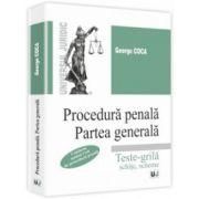 Procedură penală. Partea generală.