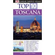 Top 10. TOSCANA - Ghid turistic vizual