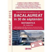 Bacalaureat 2015 Matematica  in 30 de saptamani - Matematica. M_mate-info