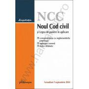 Noul Cod civil si Legea de punere in aplicare – actualizat 3 septembrie 2014
