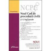 Noul Cod de procedura civila si 12 legi uzuale - actualizat 3 septembrie 2014