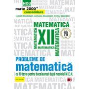 Mate  2015  PROBLEME DE MATEMATICA  PENTRU CLASA A XII-A