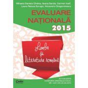 EVALUARE NATIONALA 2015  LIMBA SI LITERATURA ROMANA