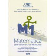 Bacalaureat 2015 Matematica M1