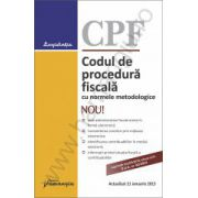 Codul de procedura fiscala cu normele metodologice - actualizat 21 ianuarie 2015 ( O.U.G. nr. 92/2014)