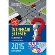 Intrebari si Teste 2015 - contine CD interactiv