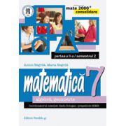Mate 2014 - 2015 Consolidare - ARITMETICA, ALGEBRA, GEOMETRIE. CLASA A VII-A. PARTEA II - Semestrul II