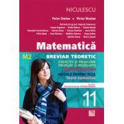 Matematică clasa a XI-a (M2)- Breviar teoretic cu exerciţii şi probleme propuse şi rezolvate -Teste iniţiale -Teste de evaluare - Teste sumative - Modele de teste