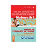 Evaluare nationala 2015 Matematică. Ghid pentru evaluarea naţională. 62 de teste de evaluare după modelul MEN.