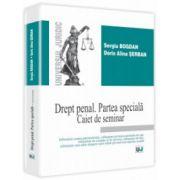 Drept penal. Partea specială. Caiet de seminar