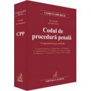 Codul de procedură penală. Comentariu pe articole - Mihail Udroiu