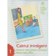 Caietul inteligent pentru clasa a V-a, semestrul I. Literatura. Limba romana. Comunicare