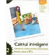 Caietul inteligent, pentru clasa a V-a, semestrul II - Literatura - Limba romana - Comunicare
