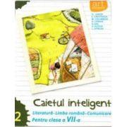 Caietul inteligent, pentru clasa a VII-a, semestrul II - Literatura - Limba romana - Comunicare