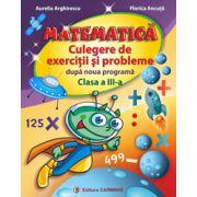 Matematică. Culegere de exerciţii şi probleme după noua programă. Clasa a III-a