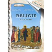 Religie: caietul elevului, clasa a IV-a