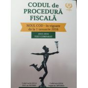 Codul de Procedura Fiscala 2016 - text comparat 2015- 2016. In vigoare din Ianuarie 2016