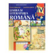 LIMBA SI LITERATURA ROMANA, manual pentru clasa a 4-a - Iordache, Jercea