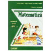 MATEMATICA manual clasa a 4-a Mihaela Singer