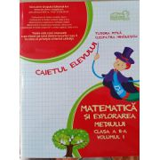 Matematica si Explorarea Mediului - Caietul Elevului - Clasa II - Partea 1