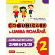 Comunicare in Limba Romana Consolidare 2015 - Modalitati de Lucru Diferentiate - clasa II