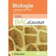 Bacalaureat 2016 Biologie -Vegetala si Animala - 90 de teste - clasele IX-X