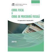 Codul fiscal și codul de procedură fiscală, ediția a III-a, In vigoare de la 1 Ianuarie 2016