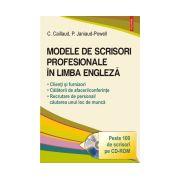 Modele de scrisori profesionale in limba engleza. Editia 2016 - Contine CD