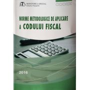 Norme metodologice de aplicare a Codului fiscal. Hotărarea Guvernului Romaniei nr. 1/2016