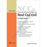 Noul Cod civil si 9 legi uzuale. Actualizat 4 ianuarie 2016