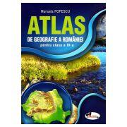 Atlas de Geografie a Romaniei pentru clasa a 4-a