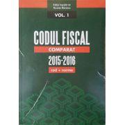 Codul Fiscal Comparat 2015-2016 Mandoiu - cod+norme - Februarie 2016 - 3 volume