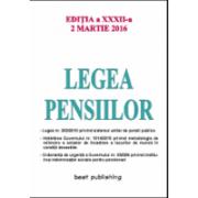 Legea pensiilor - 2 martie 201